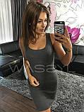 Платье Майка туника футляр карандаш сарафан №39, фото 6