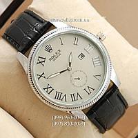 Часы Rolex 4207 Geneve Black/Silver/Silver