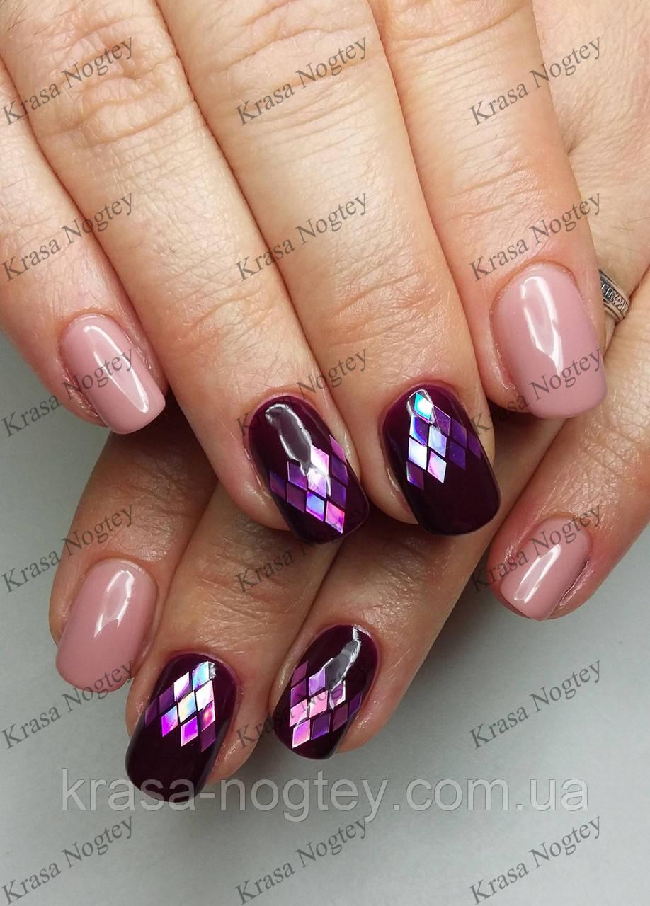 дизайн ногтей синий с розовым - Тюменский издательский дом