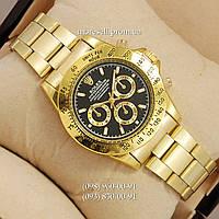Часы Rolex Quartz Daytona Men Gold/Black