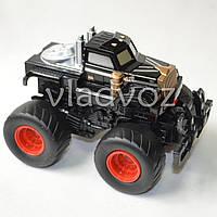 Машинка инерционная Джип монстр черный 14 см.