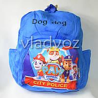 Детский рюкзак щенячий патруль синий