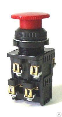 Кнопка КЕ-022 красный