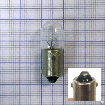 Лампа накаливания МН26-0,12  Б9S/14