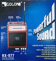 Радио приемник RADIO GOLON RX-307 UAR