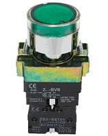 Кнопка  ВА31  зелёная 22mm  NO + NC с подсветкой