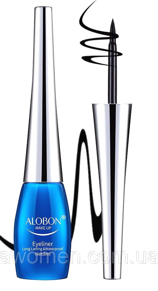 Подводка для глаз Alobon 8 ml (черная)