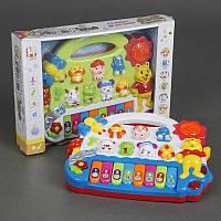 Пианино 5001 (48/2) 2 вида, музыка, свет, на батарейке, в коробке