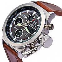 Армейские наручные часы AMST 3003 silver Japan movt