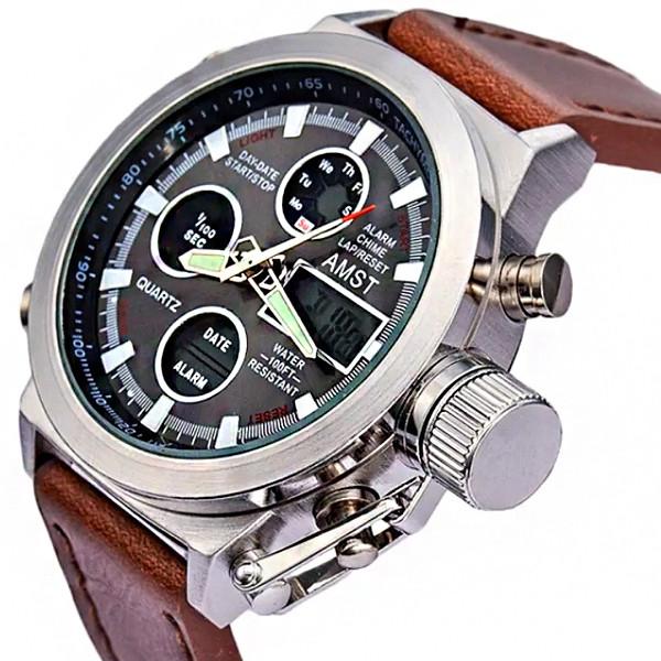 caa42dac9b05 Армейские наручные часы AMST 3003 silver Japan movt  продажа, цена в ...