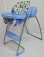 Стул-качели TS-100 2в1 (жезлонг-качалка - стульчик для кормления). Музыкалный от сети и батареек.