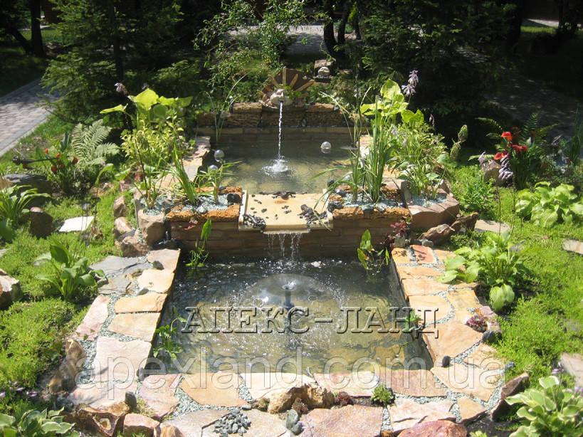 Создание декоративного пруда, фото 1