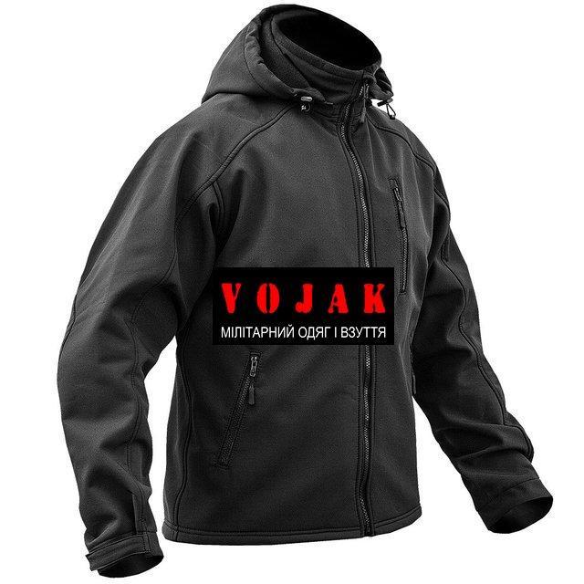 Куртка SoftShell  BLACK