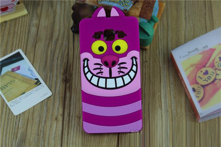 """Samsung J200F J2 оригинальный противоударный детский 3D чехол игрушка на телефон """"ЧИШИРСКИЙ КОТ"""""""