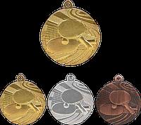 """Медаль """"Настольный теннис"""" MMC1840  с лентой"""