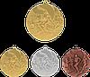 """Медаль """"Легкая атлетика"""" MMC2350 с лентой"""