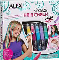 Мелки и украшения для волос ALEX Spa Metallic Hair Chalk Оригинал из США