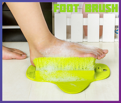Щетка на присосках для ног  Slip Proof Foot Brush, фото 2