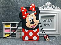 """Samsung J200F J2 оригинальный противоударный детский 3D чехол игрушка на телефон """" MINEY MOUSE """""""