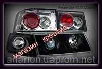 Передние фары+задние фонари на ВАЗ 2110 №2.