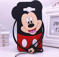"""Samsung J200F J2 оригинальный противоударный детский 3D чехол игрушка на телефон """" MICKEY MOUSE МИККИ МАУС """""""