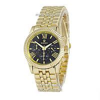 Часы Rolex Quartz Rome Gold-Gold-Black