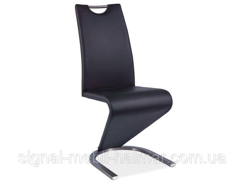 Купить кухонный стул H-090 черный/сталь (Signal)