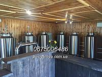 Пивоварня производительностью 500 л в сутки