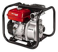 Мотопомпа бензиновая для грязной воды, 4-такт., 4800 Вт (6,5 лс), 23000 л/ч, давление до 2,6 бар, бак 3,6 л.