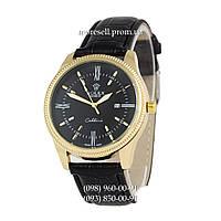Часы Rolex Cellini Quartz Black-Gold-Black