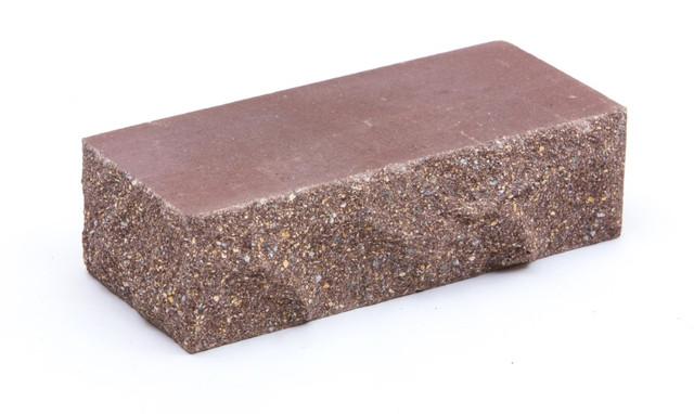 Кирпич облицовочный LAND BRICK Скала ложково-тычковой коричневый 230х100х65 мм