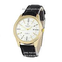 Часы Rolex Cellini Quartz Black/Gold/White