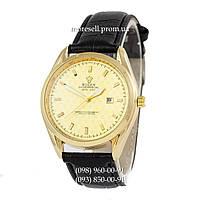 Часы Rolex Quartz B63 Black-Gold-Gold