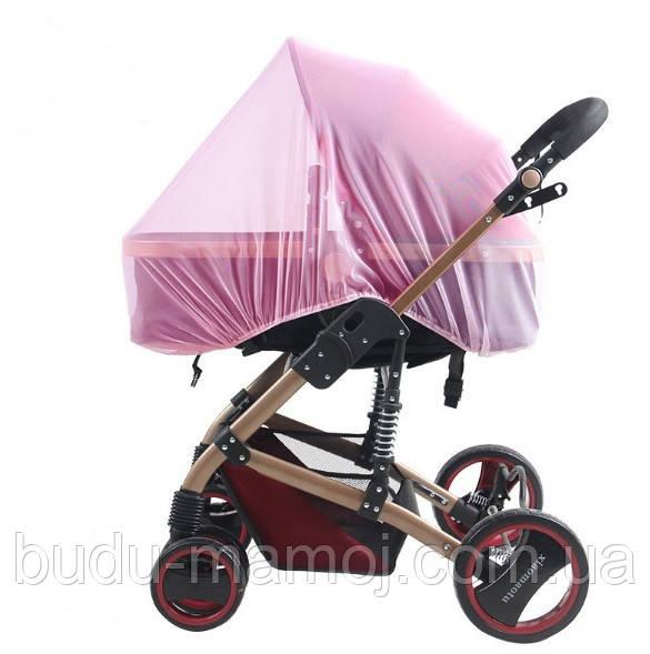 Москитные сетки на коляску кроватку цветные