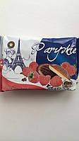 Печенье бисквитное Paryskie в шоколаде с малиновым желе Польша 300 г