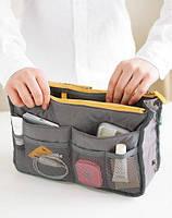 Органайзер для сумки Bag in Bag. Серый