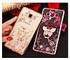 """SAMSUNG A7 A700 Оригинальный чехол бампер наккладка противоударный со стразами на телефон """"GPM"""", фото 3"""