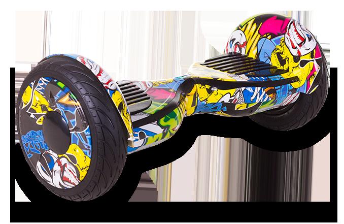 Гироскутер Smart Balance All Road 10.5 (Внедорожник) Хип Хоп Графити