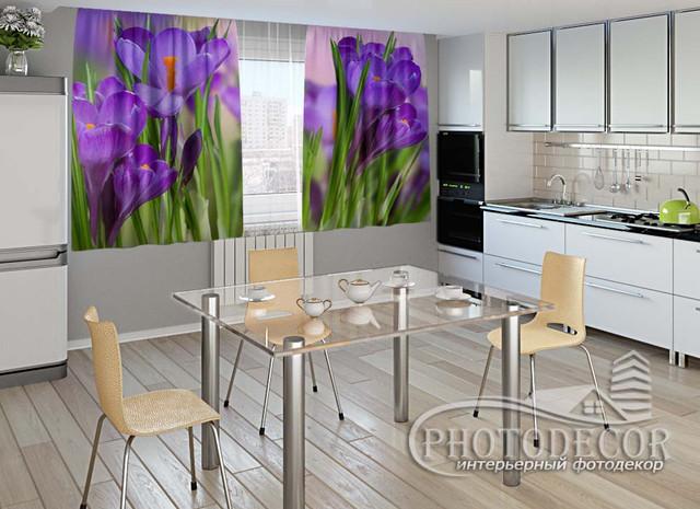 ФотоШтора для кухни 1,5м*2,0м (карниз 2,0м)