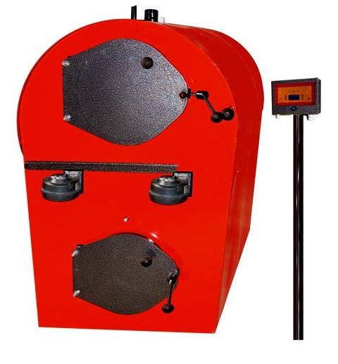 Промисловий піролізний газогенераторний котел на твердому паливі Анкот 100