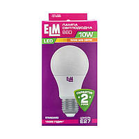 Лампа светодиодная ELM LED B60 10W PA10 E27 3000K
