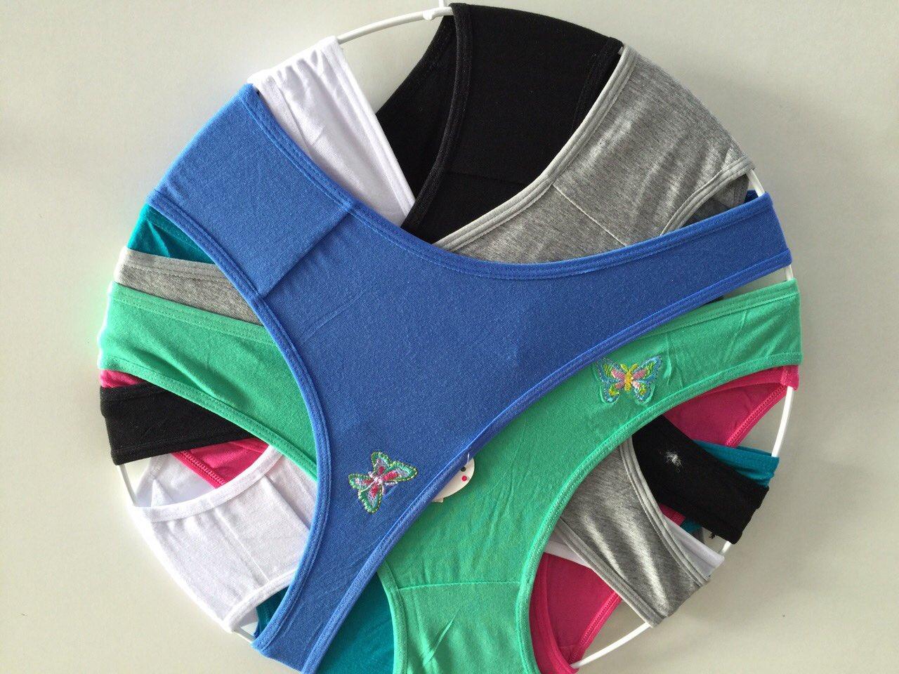 Женские трусики L-2XL размеры и цвета разные