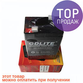 Аккумулятор батарея GDLITE 6V 4.0Ah GD-640 / источник питания