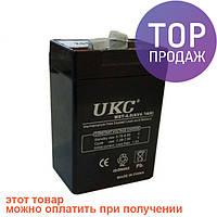 Аккумулятор батарея UKC 6V 4.0Ah WST-4.0 / источник питания