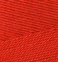 Пряжа для ручного вязания Alize BAMBOO & COTTON (Ализе бамбук и котон) дует 106 красный