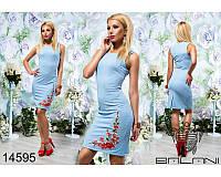 Легкое летнее женское платье размеры:42, 44, 46, 48