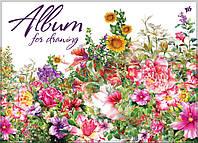Альбом для малювання Yes Поляна А4 30л/120 ембоссінг, бічна спіраль 130263