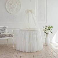 Комплект постельного белья в кроватку Ovaldress L'collection на круглую/овальную кроватку
