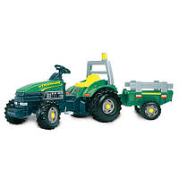 Трактор Педальный с Прицепом Stronger Verd Smoby 33406