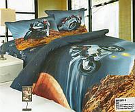 Стильное детское постельное белье для мальчиков мотторалли